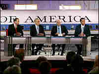 The Republican presidential hopefuls debate at the Ronald Reagan Presidential Library in Simi Valley