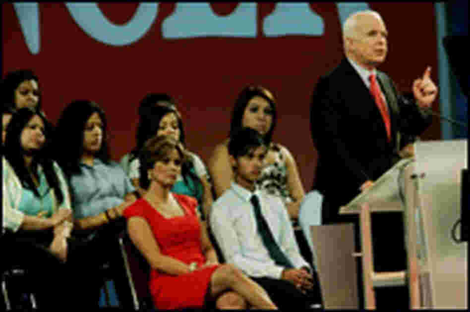 John McCain at La Raza