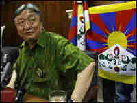 Lodi Gyari, the head of the Tibetan delegation for talks with China, at an April news conference