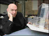 Jean Nouvel in Paris after being named the winner of the 2008 Pritzker Architecture Prize.