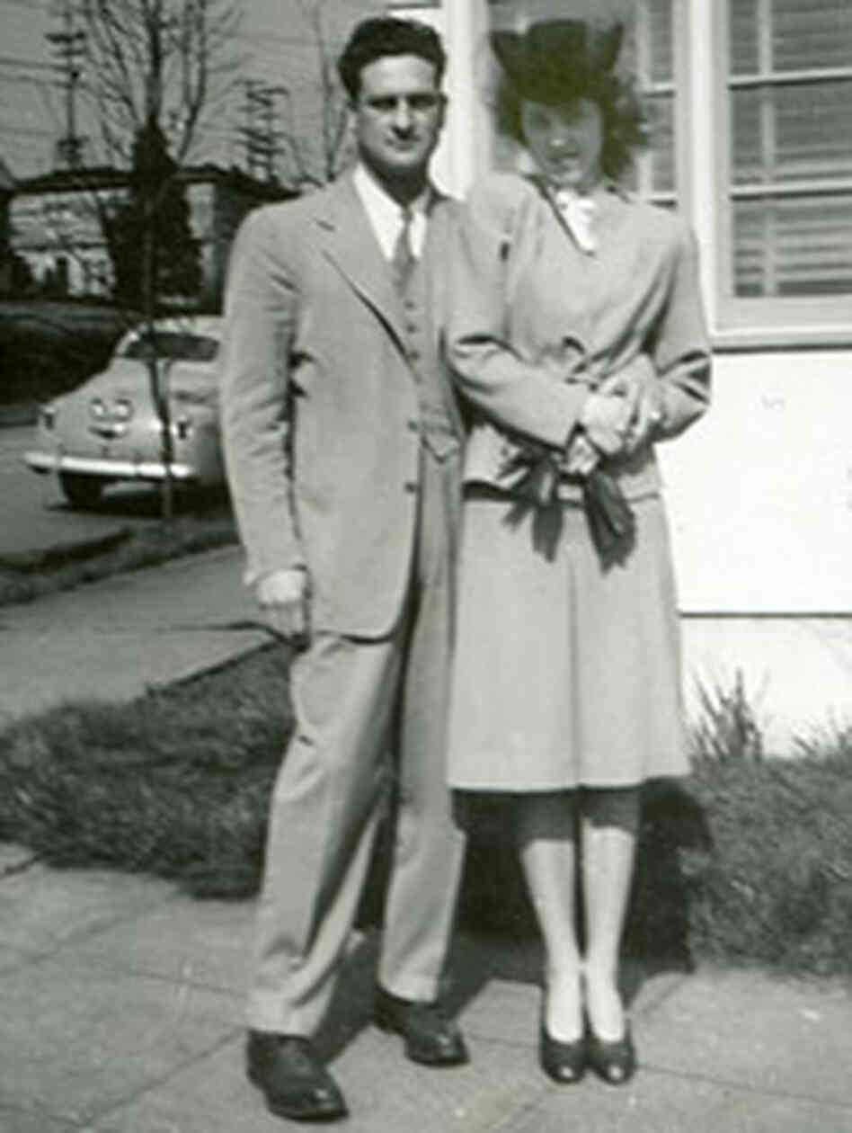 Tom and Lois DeDomenico in San Francisco shortly after their marriage.