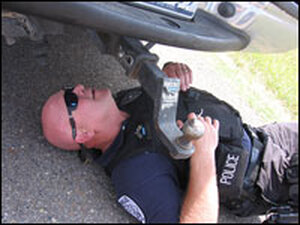 Cpl. Mark Frost of the Kingsville Police Department