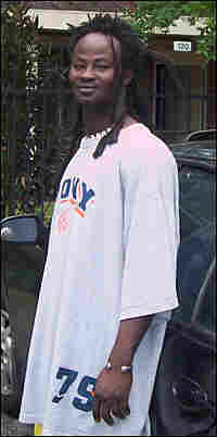 Michael Annan, from Ghana