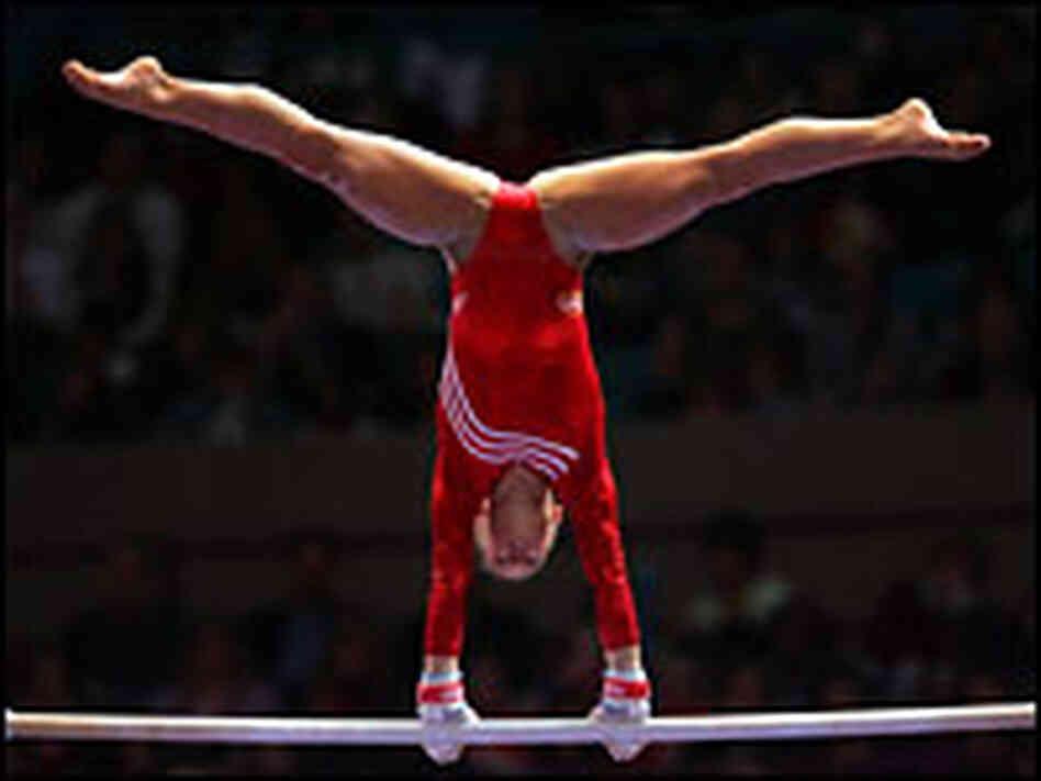 Iowa Gymnast Tumbles Toward Olympic Glory Npr