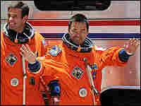 Aerospace Exploration Agency (JAXA) astronaut Akihiko Hoshide.