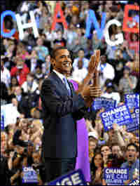 Illinois Sen. Barack Obama secures enough delegates to win the Democratic Party's nomination.