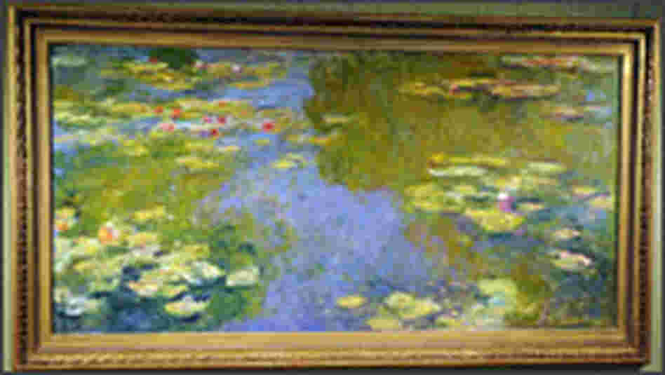 Monet's 'Le Bassin aux Nympheas.'