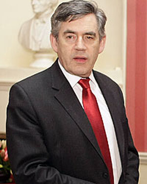 British Prime Minister Gordon Brown said China's prime minister may hold talks with th