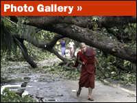 Cyclone Nargis photo gallery