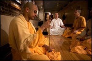 Pandit Praying