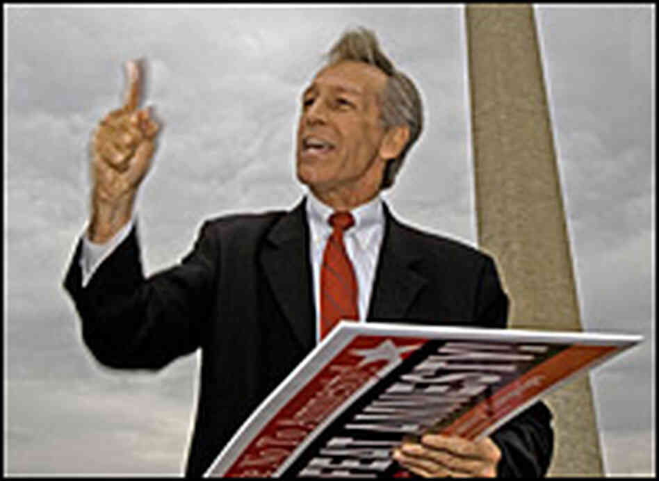 Republican Virgil Goode speaks at a rally in June 2007.