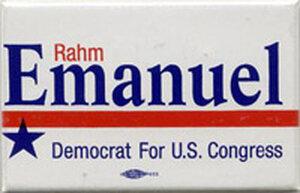 Rahm Emanuel button