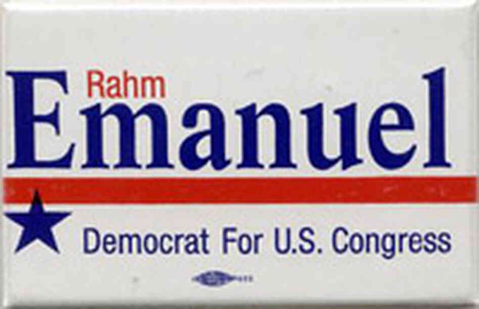 Rahm Emanuel button