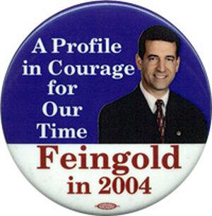 Russ Feingold button