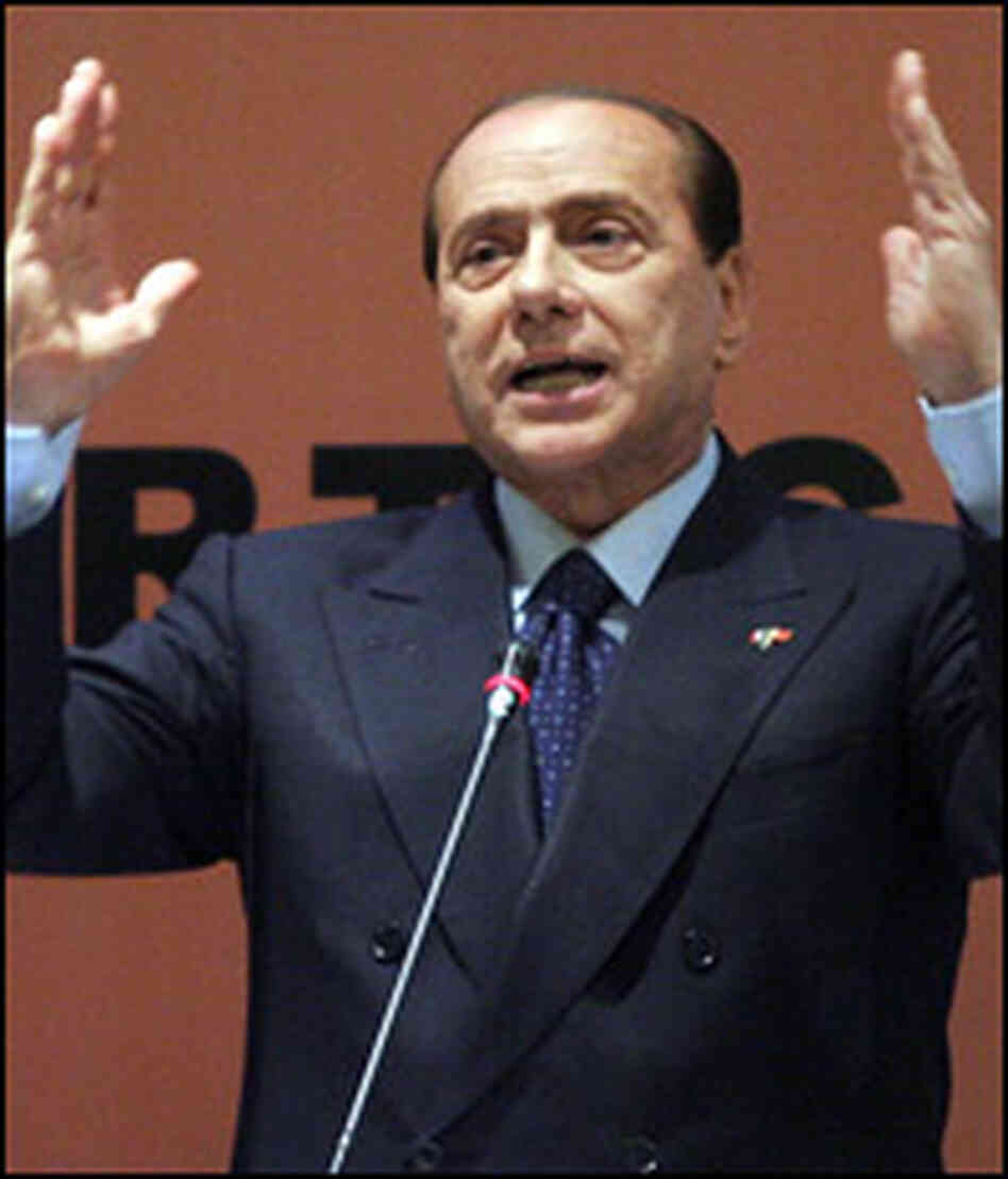 "Silvio Berlusconi called the new U.S. president-elect ""young, handsome and even suntanned."""