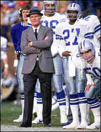 Coach Tom Landry of the Dallas Cowboys