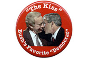 Joe Lieberman button