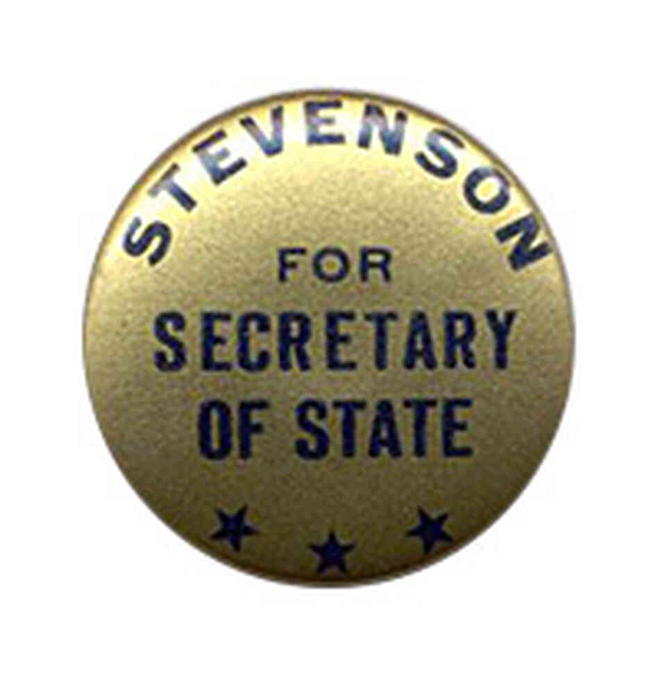 Adlai Stevenson button