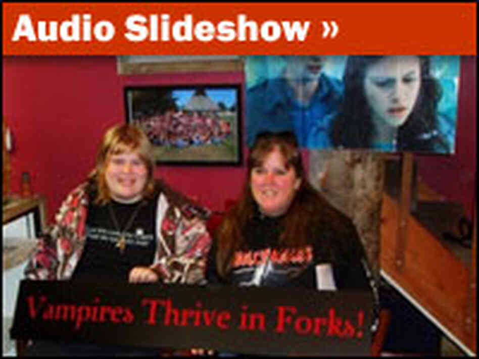Audio Slideshow: Vampire Tourism in Forks, Wash.