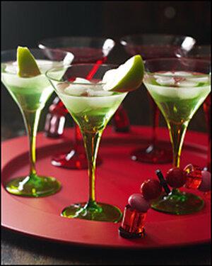 The green apple martini.