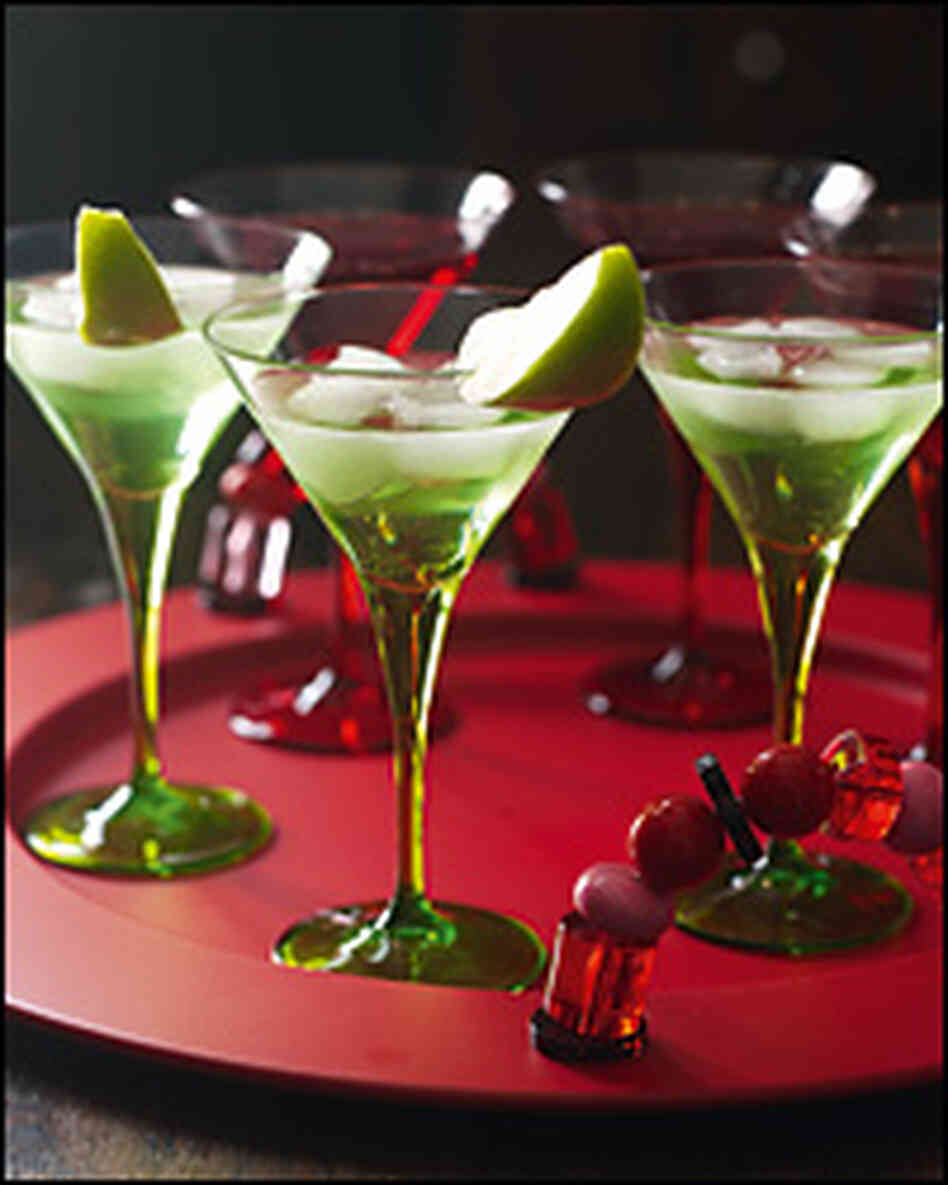 The green apple martini.