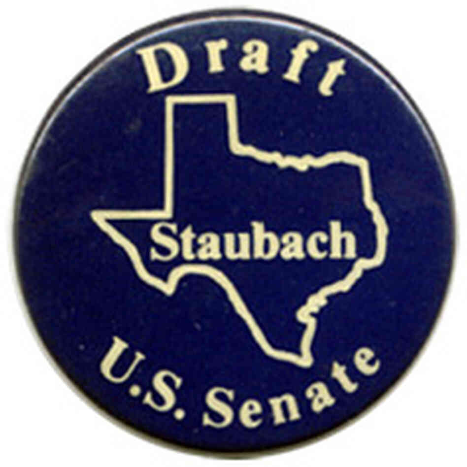 Roger Staubach button