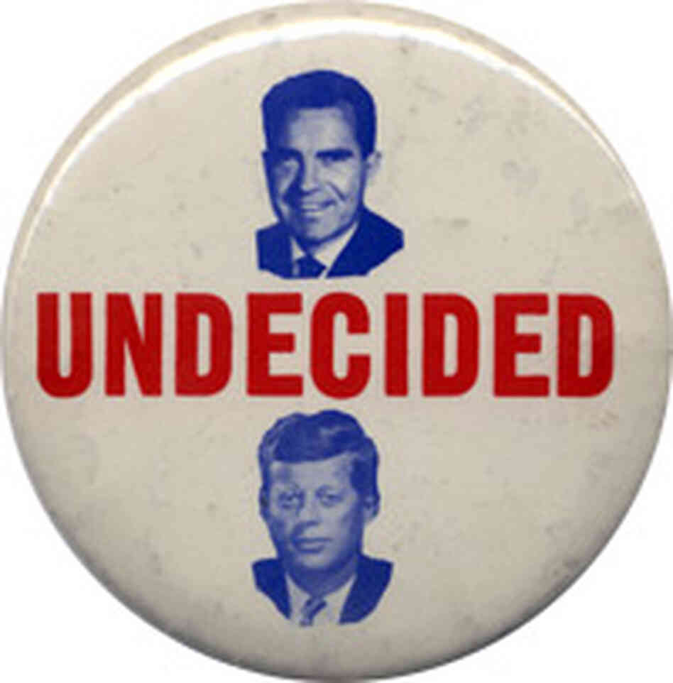 Kennedy-Nixon button