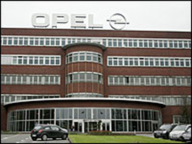 General Motors' Opel factory in Bochum, Germany, employs 5,000 workers.