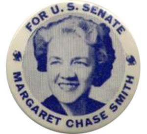 Margaret Chase Smith button