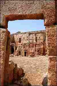 Byzantine ruins at Serjilla