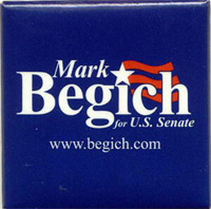 Mark Begich button