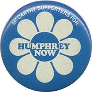 Hubert Humphrey button