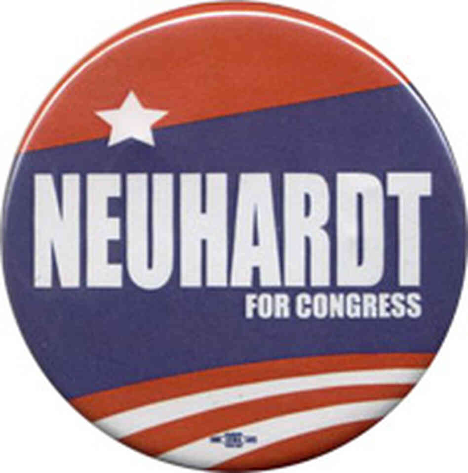 Sharen Neuhardt button