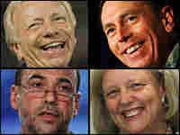 Members of McCain's advisory team.  Getty Images