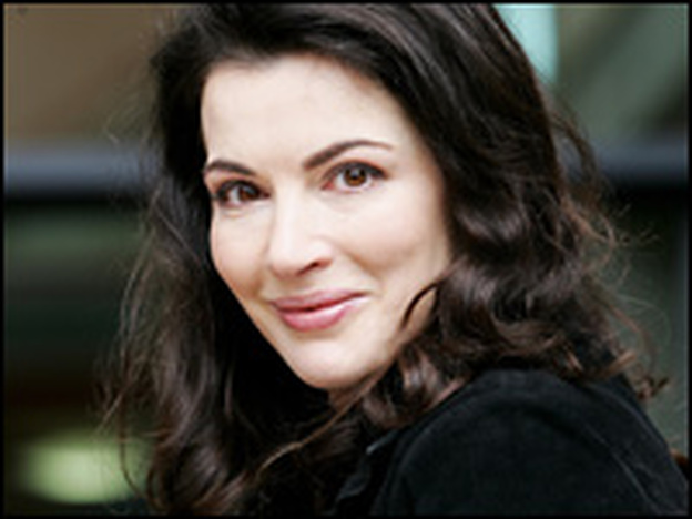 Celebrity chef Nigella Lawson in London.