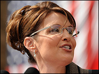 Republican vice presidential nominee Sarah Palin campaigns in Wisconsin.
