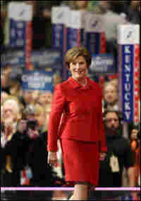 First Lady Laura Bush at the Republican National Convention