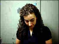 Juliana Kerrest, 22, near Johns Hopkins University in Maryland.