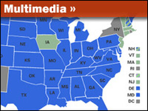 Interactive Map: Gay Marriage Laws, State By State
