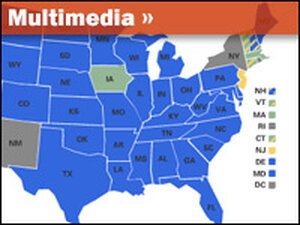 Interactive Map: Battle Over Gay Marriage