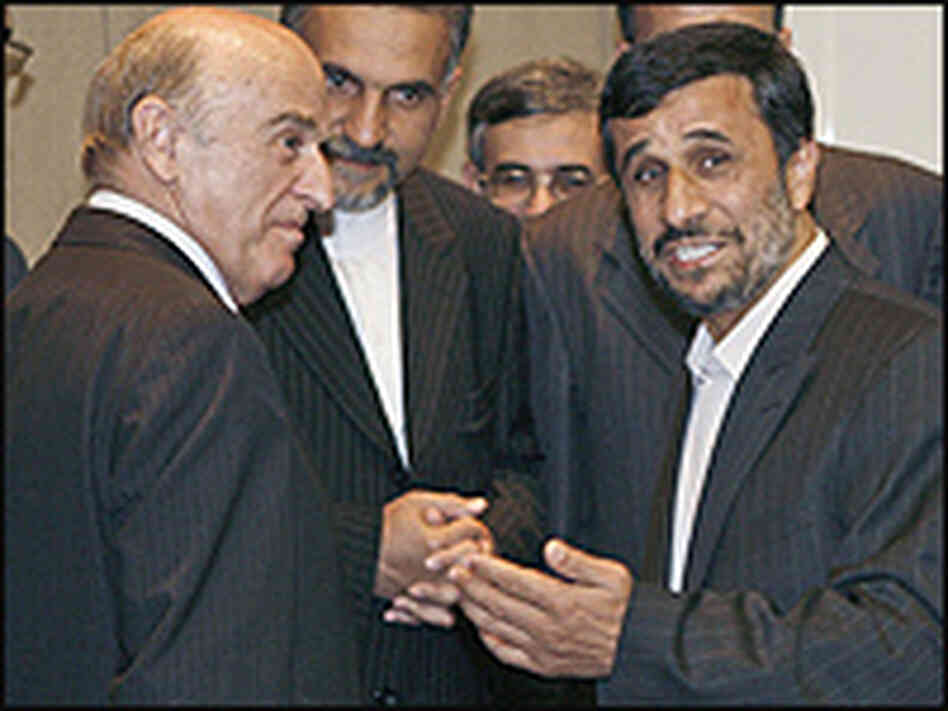 Swiss and Iranian presidents