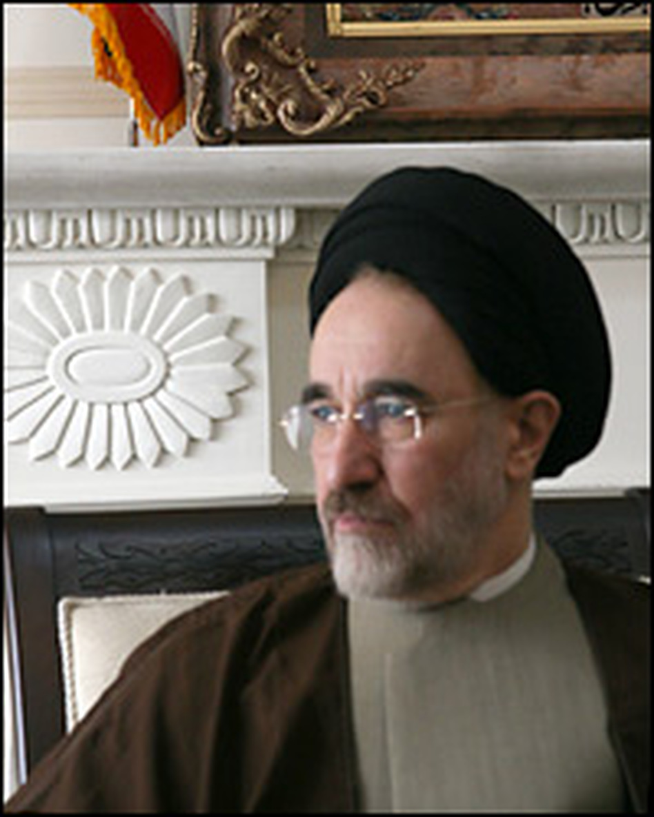 Former Iranian President Mohammad Khatami has not announced whether he will seek to replace Mahmoud Ahmadinejad.