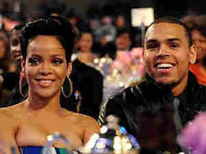 Chris Brown and Rihanna on Feb. 7