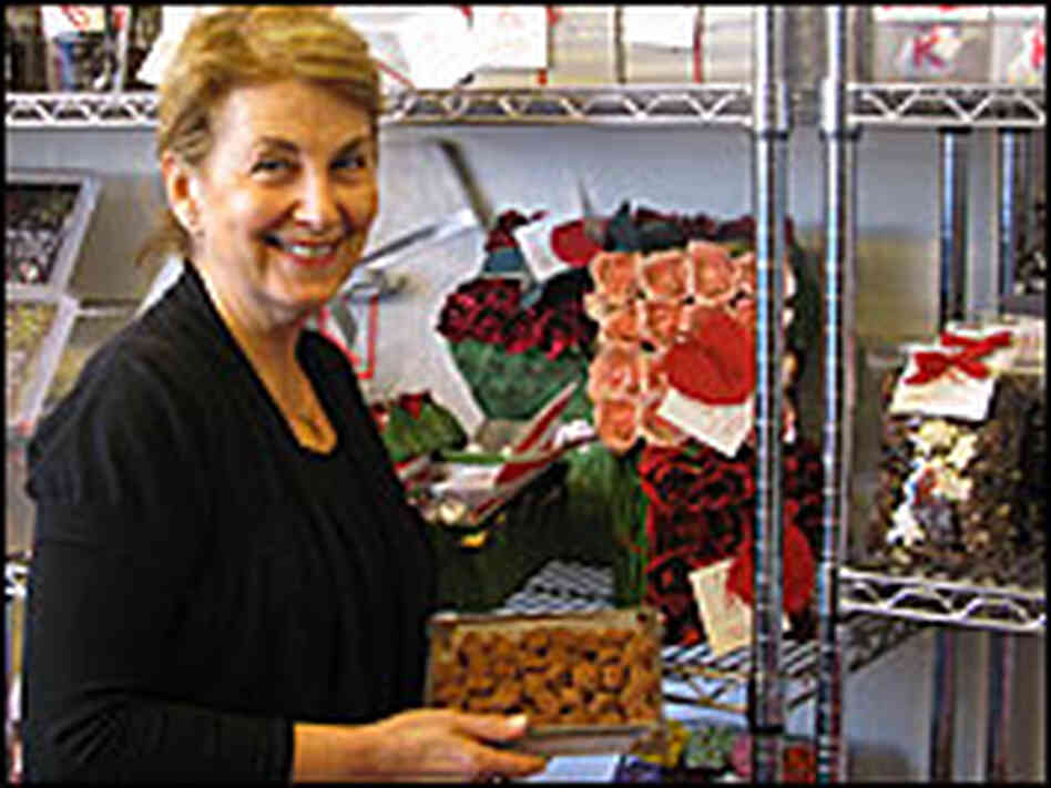 Diane Kron is the owner of K Chocolatier.
