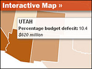 Interactive Map: States With Budget Gaps