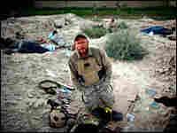 NPR photographer David Gilkey in southern Afghanistan.