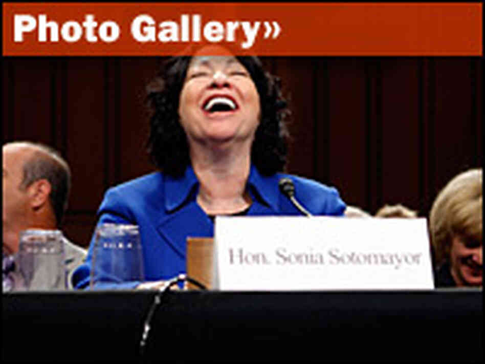 Gallery: Day 1 Of The Sotomayor Hearings