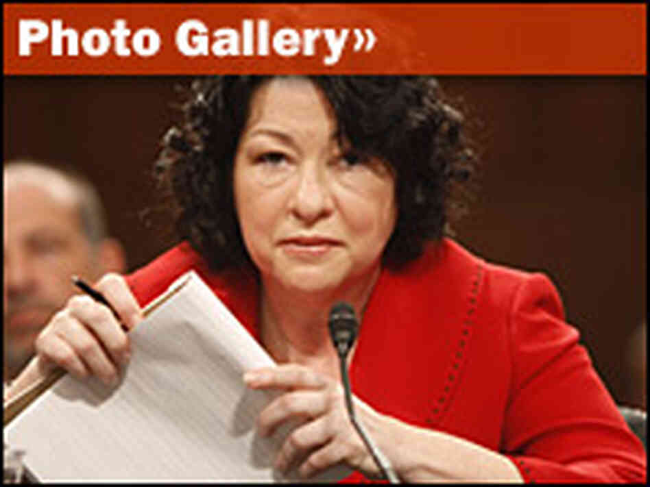 Photo Gallery: Sotomayor Hearings