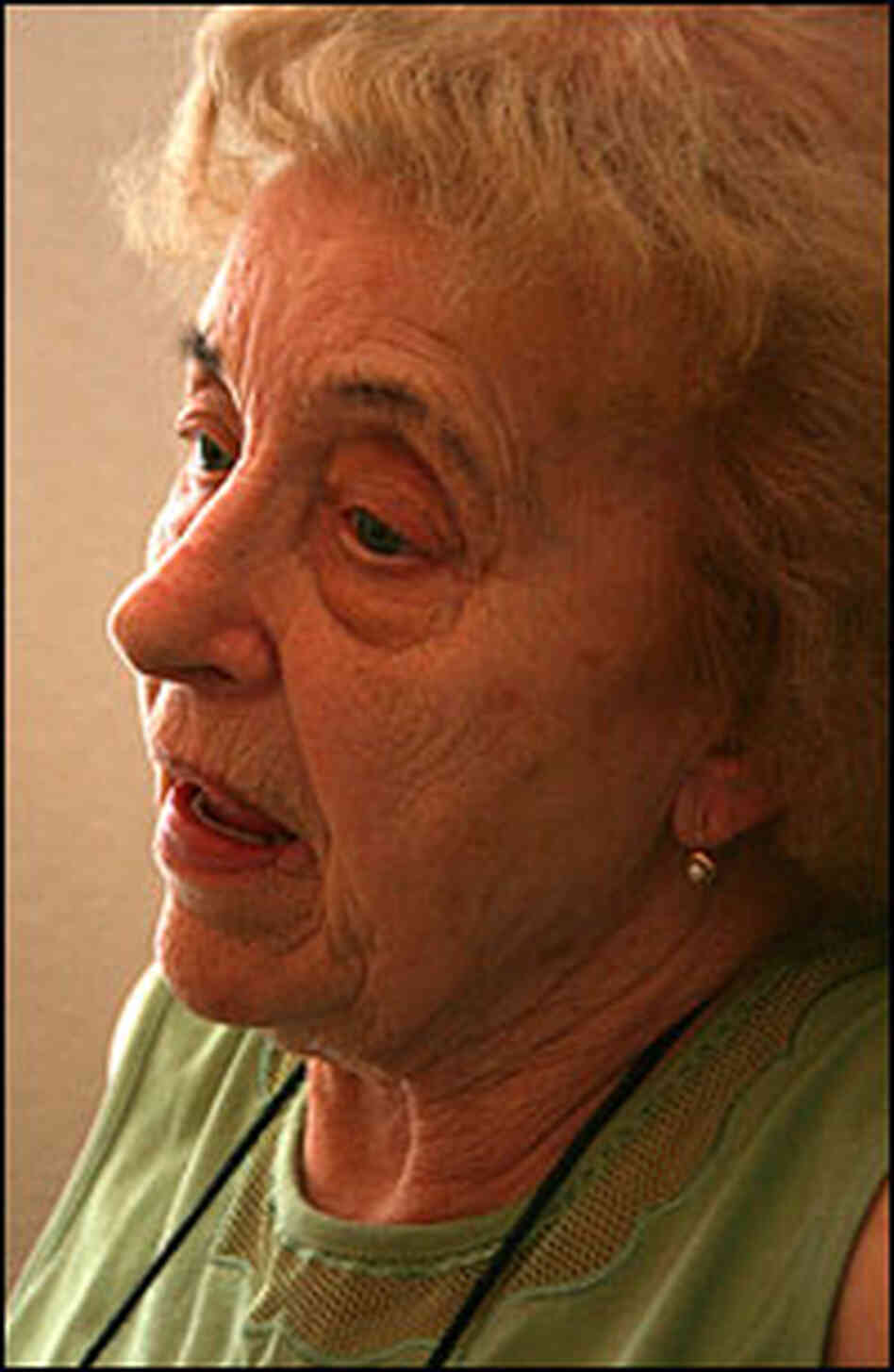 Ruth Schumacher was raped by Soviet Red Army soldiers after Hitler's defeat in 1945.