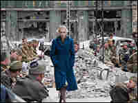 'A Woman in Berlin' tells the story of a woman's struggle to survive in war-ravaged Berlin in 1945.